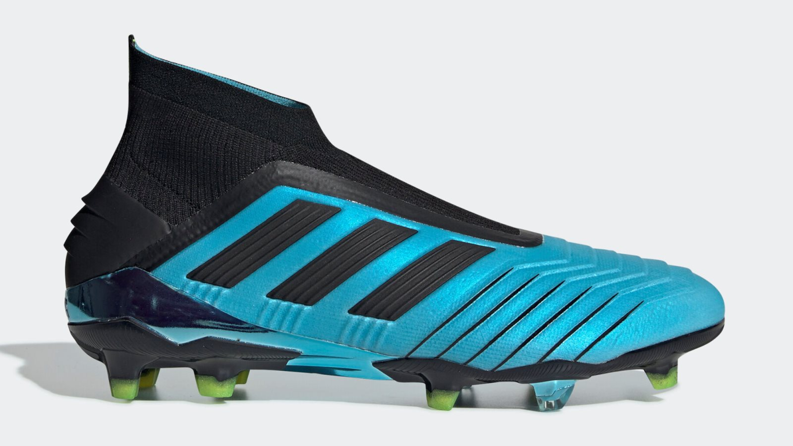 Image result for Black / Pink / Blue Adidas Predator 19+ Paul Pogba Season 6 2019-20 Boots Leaked